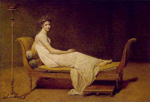 Jacques-Louis David in 1800
